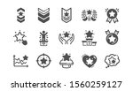 ranking icons. first place ... | Shutterstock .eps vector #1560259127