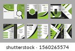 template layout company profile ...   Shutterstock .eps vector #1560265574