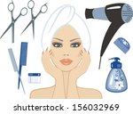 beauty   Shutterstock .eps vector #156032969