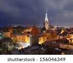 panoramic view of old part of... | Shutterstock . vector #156046349