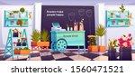 flower shop interior  empty... | Shutterstock .eps vector #1560471521