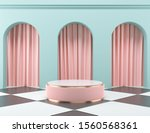 abstract mock up pastel color... | Shutterstock . vector #1560568361