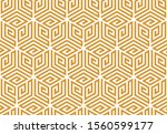 abstract geometric pattern. a... | Shutterstock .eps vector #1560599177