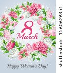 vertical 8 march women's day... | Shutterstock .eps vector #1560629351
