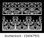 lace background. | Shutterstock .eps vector #156067931