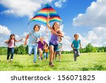 Many Happy Active Kids Boys An...
