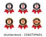 quality certification warranty...   Shutterstock .eps vector #1560739601