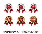 quality certification warranty...   Shutterstock .eps vector #1560739604