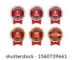 quality certification warranty...   Shutterstock .eps vector #1560739661
