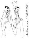 Ghost Wedding. Skeletons In...