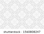 abstract geometric floral... | Shutterstock .eps vector #1560808247