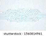 abstract technology background  ...   Shutterstock .eps vector #1560814961