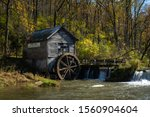 The Historic Hyde's Mill On A...