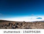 Scenic View On Meru Peak Above...