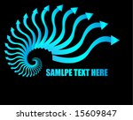 business concept arrows | Shutterstock .eps vector #15609847