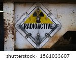 Old Radioactive Sign Taken At...