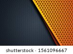 yellow abstract backgrund... | Shutterstock .eps vector #1561096667
