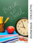 back to school. watch and... | Shutterstock . vector #156116741