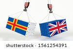 united kingdom and aland...   Shutterstock . vector #1561254391