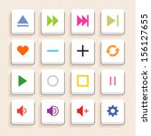 16 media sign icon set 06 ...