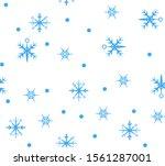 vector simple unusual seamless... | Shutterstock .eps vector #1561287001