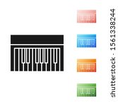 black music synthesizer icon...   Shutterstock .eps vector #1561338244