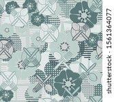 Seamless Pattern. Drawn Kitche...