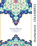 eastern ethnic motif ... | Shutterstock .eps vector #1561408921
