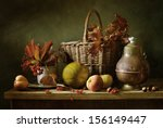 Autumn Still Life With Red...