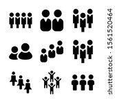 people icon isolated sign... | Shutterstock .eps vector #1561520464