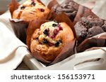 Blueberry And Chocolate Muffin...