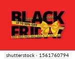 black friday sale design...   Shutterstock .eps vector #1561760794