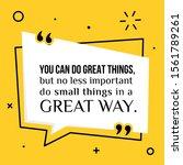 vector illustration of quote.... | Shutterstock .eps vector #1561789261