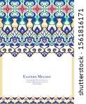 eastern ethnic motif ... | Shutterstock .eps vector #1561816171