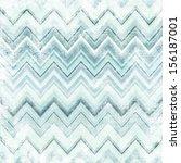 chevron pattern   grunge image... | Shutterstock . vector #156187001