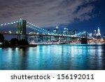 Brooklyn Bridge At Night  New...
