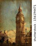 Big Ben   London  Uk. View Fro...