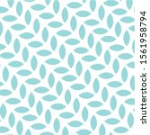 simple flower pattern solid... | Shutterstock .eps vector #1561958794