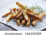 french fries | Shutterstock . vector #156205589