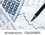 financial accounting | Shutterstock . vector #156205805