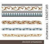 old greek ornament. vector... | Shutterstock .eps vector #156207185