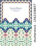eastern ethnic motif ... | Shutterstock .eps vector #1562108857