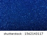 Dark Saturated Sparkling Blue...