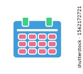 calendar icon  modern flat...