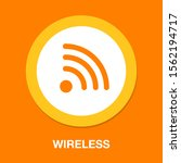 wireless and wifi icons.... | Shutterstock .eps vector #1562194717