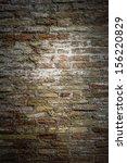 Rustic brick texture - stock photo