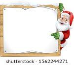 santa christmas cartoon...   Shutterstock .eps vector #1562244271
