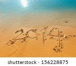 New Year 2014 Concept Written...