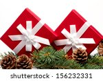 Pine Cones And Gifts Two...