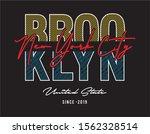 new york city typography for... | Shutterstock .eps vector #1562328514